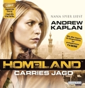Homeland: Carries Jagd, 2 MP3-CDs