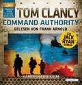 Tom Clancy - Command Authority, 4 MP3-CDs