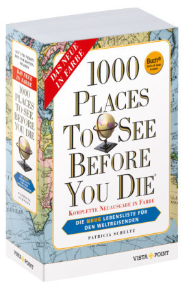 1000 Places to See Before You Die, deutsche Ausgabe, Buch + E-Book