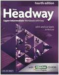 New Headway, Upper-Intermediate, Fourth Edition: Workbook with key and iChecker CD-ROM