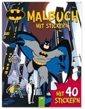 Batman Malbuch mit Stickern
