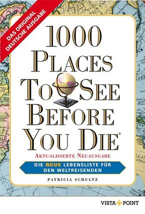 1000 Places To See Before You Die, deutsche Ausgabe