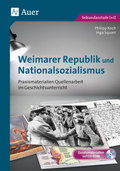 Weimarer Republik und Nationalsozialismus, m. CD-ROM