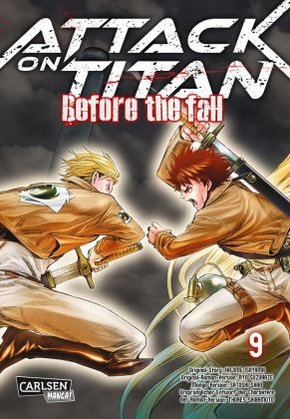 Attack on Titan - Before the Fall - Bd.9