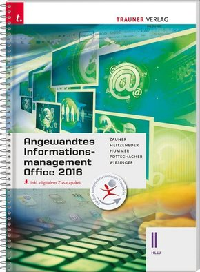 Angewandtes Informationsmanagement II HLW Office 2016, m. Übungs-CD-ROM