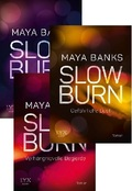 Slow Burn - Band 1-3 (3 Bücher)