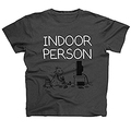 Indoor Person T-Shirt Gr. L - Gregs Tagebuch
