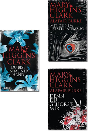 Mary Higgins Clark Thriller-Paket (3 Bücher)
